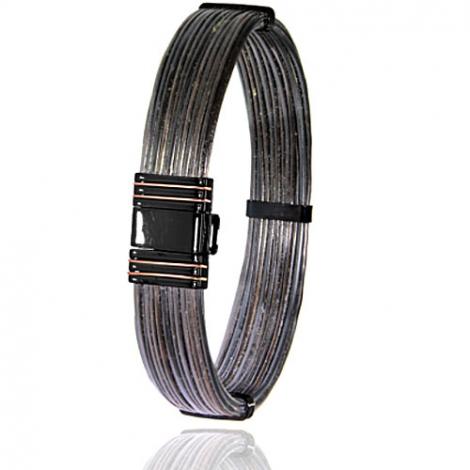 Albanu - Bracelet en Poils d'éléphant or acier 0.2g -  Elodie - 700NELORrose
