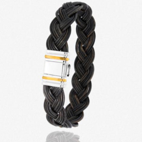 Albanu - Bracelet en Poils d'éléphant or acier 0.5g -  Oxanna - 698TELORjaune