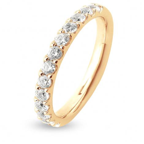 Alliance 13 Diamants Prestige serti griffes 0.65 ct  en Or Jaune - Nolwenn