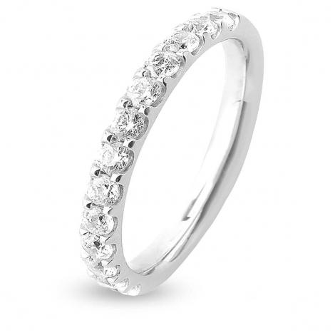 Alliance 13 Diamants Prestige serti griffes 0.65 ct  en Platine 950 - Mélanie