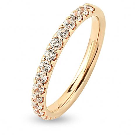 Alliance 16 Diamants Prestige serti griffes 0.5 ct  en Or Jaune - Irina