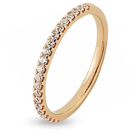 Alliance 21 Diamants Prestige serti griffes  0.25 ct Katerina en Or Jaune - 7BE41421WD