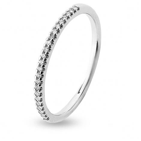 Alliance 23 Diamants Prestige serti griffes 0.1 ct Alyona en Or Blanc - 7BE41023WD