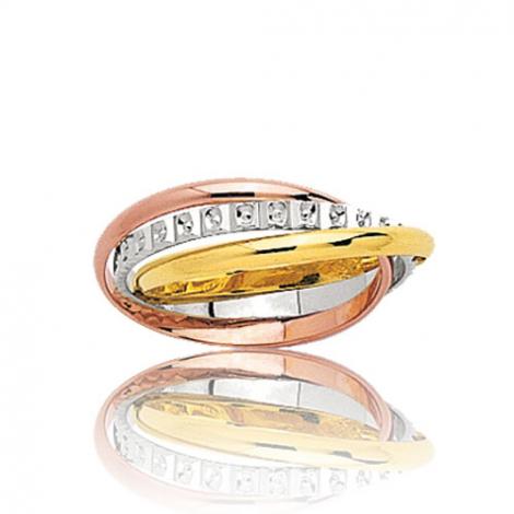 alliance 3 ors rosaria 9ktr40320 bague de mariage. Black Bedroom Furniture Sets. Home Design Ideas