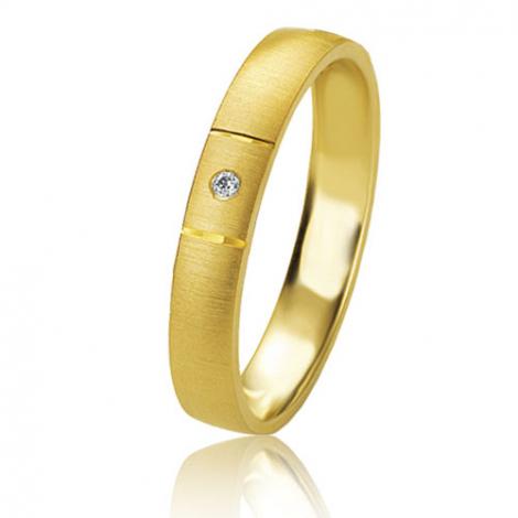 Alliance Basic Lignt 3.5 mm Or Jaune diamant Anastasia - 05611