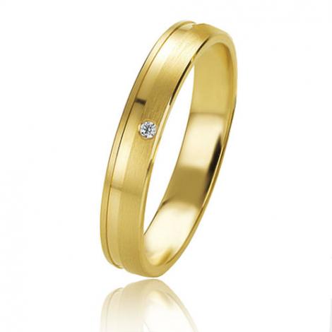 Alliance Basic Lignt 3.5 mm Or Jaune diamant Cléa - 05613