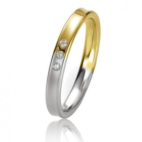 Alliance Basic Lignt 3 mm 2 Ors diamant Fiona - 05639