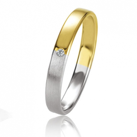 Alliance Basic Lignt 3 mm 2 Ors diamant Meredith - 05637