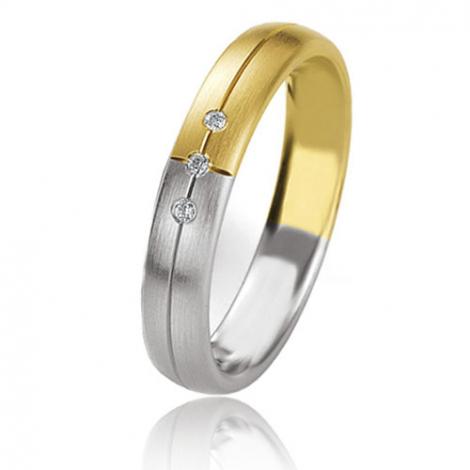 Alliance Basic Lignt 4 mm 2 Ors diamant Jessica - 05631