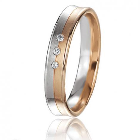 Alliance Basic Lignt 4 mm 2 Ors diamant Maryane - 05655