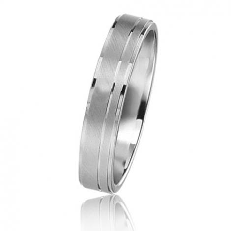 Alliance Basic Lignt 4 mm Or Blanc  Valentine - 05624