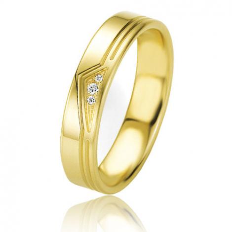 Alliance Basic Lignt II 4.5 mm Love Or Jaune diamant -04209