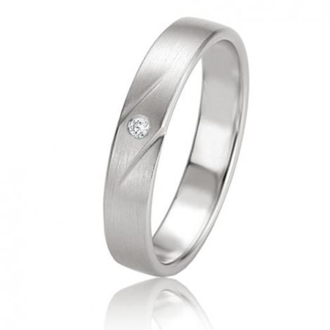 Alliance Basic Lignt II 4 mm Ania Or Blanc diamant -04225