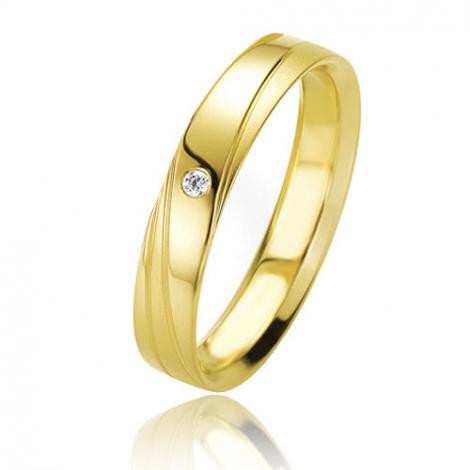 Alliance Basic Lignt II 4 mm Anissa Or Jaune diamant -04205