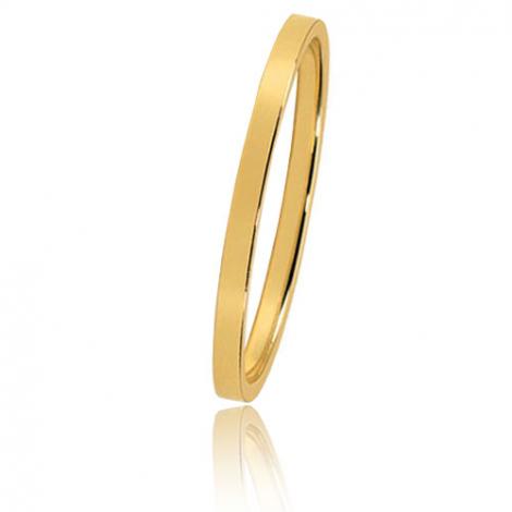 Alliance Bonheur en or jaune large de 1.5 mm Mylie-BHR15J