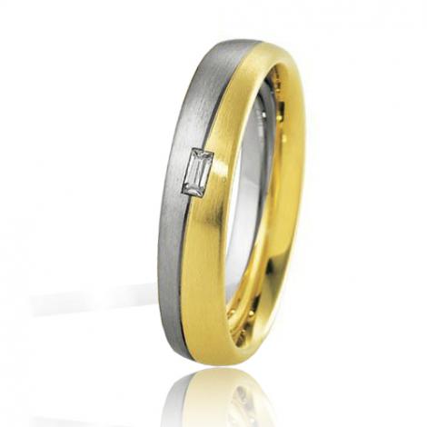 Alliance Breuning Inspiration Aurore 4.5 mm 2 Ors diamant