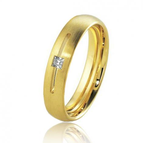 Alliance Breuning Inspiration Exquise 4.5 mm Or Jaune diamant