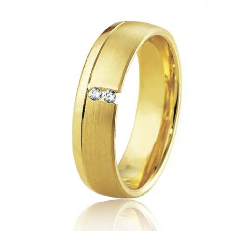 Alliance Breuning Inspiration Morgane 5.5 mm Or Jaune diamant