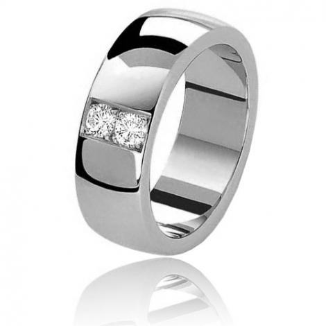 Alliance Celeste diamants 0.20 carats en or blanc Or Blanc - 0.2 ct - Serena