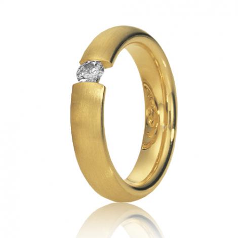 Alliance de mariage en Or Jaune 4.5 mm