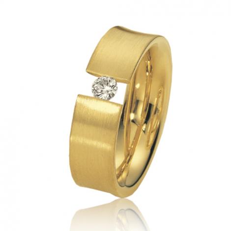 Alliance de mariage en Or Jaune 6.5 mm