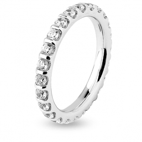 Alliance Diamant Barrettes 1 ct  en Or Blanc