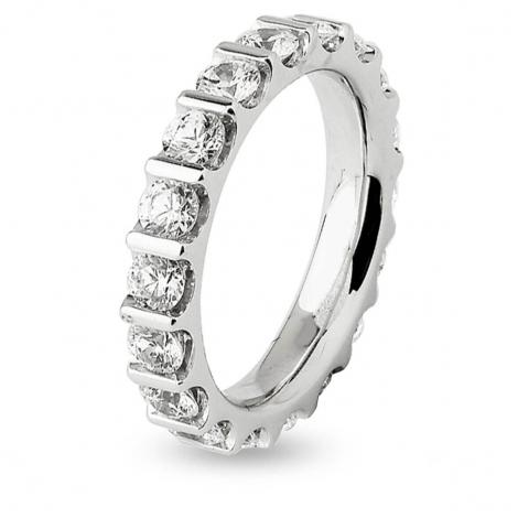 Alliance Diamant Barrettes 2.5 ct Azaly en Or Blanc