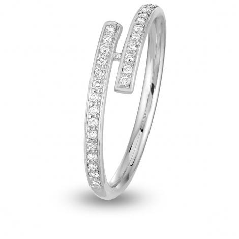 Alliance diamant DEVA Platine 950 - 0.15 ct - Kyana