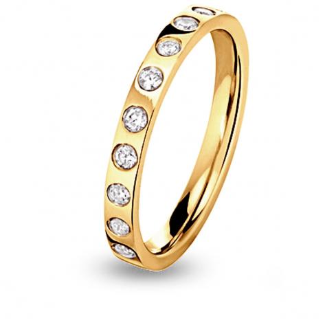 Alliance diamant Eclat demi tour Or Jaune - 0.22 ct - Lola
