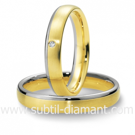 Alliance diamant et 2 Ors 4 mm - Camilla