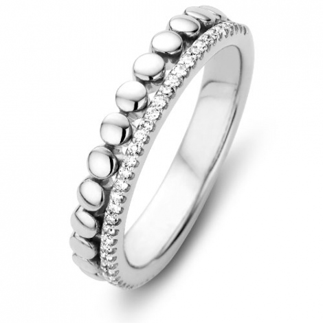 Alliance  diamant One More - Ischia 54700-blanc