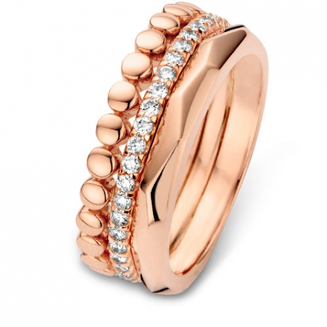 Alliance  diamant One More - Ischia 54709-rose