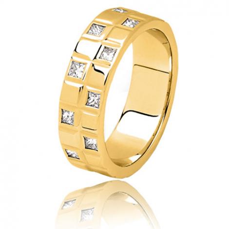 Alliance diamants Aquarius 0.40 ct en or jaune Or Jaune - 0.4 ct - Anaïs