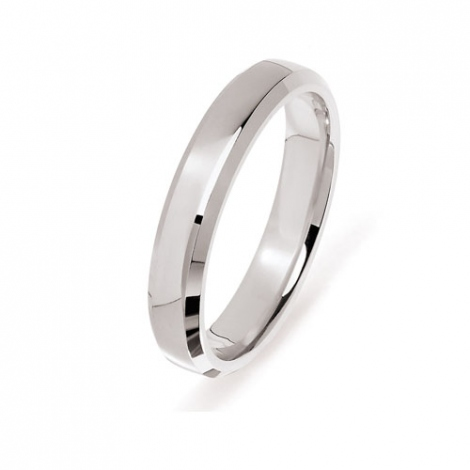 Alliance  en Or Blanc 2.5 mm - Tiffany - ETERNEL-1