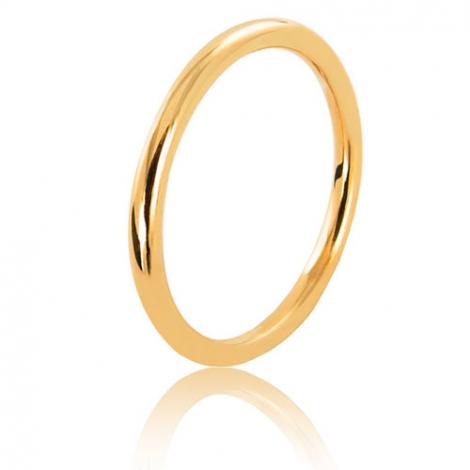 Alliance fil rond en or jaune large de 2 mm Karine-FILROND2J