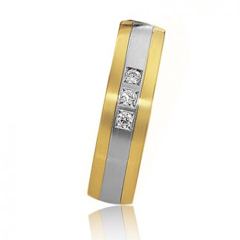 Alliance mariage 5.5 mm - diamant -