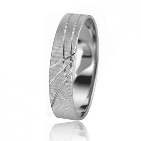 Alliance mariage Slim 5 mm -Adrielle - 81519