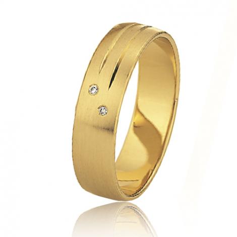 Alliance mariage Slim 5 mm -Azaly - 81506