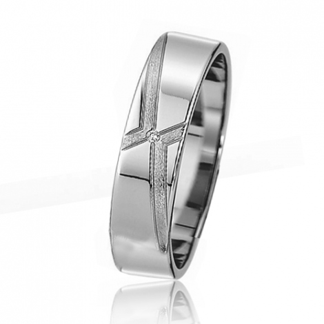 Alliance mariage Slim 5 mm -Eshana - 81514