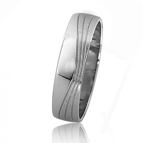 Alliance mariage Slim 5 mm -Morgane - 81517