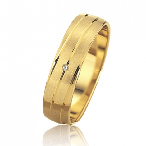 Alliance mariage Slim 5 mm -Nastasia - 81500