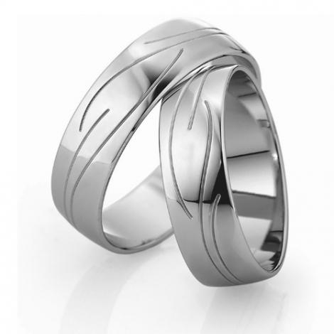 Alliance mariage Slim 6 mm -Darjeeling - 81533