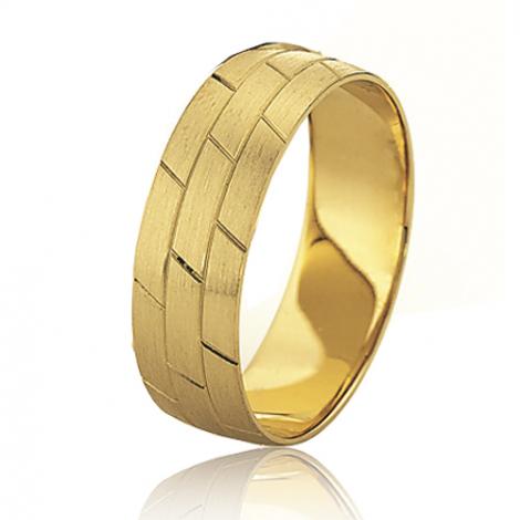 Alliance mariage Slim 6 mm -Florence - 81521