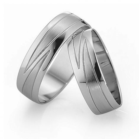 Alliance mariage Slim 6 mm -Valeriya - 81535