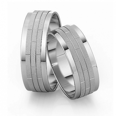 Alliance mariage Slim 7 mm -Infinie - 81539