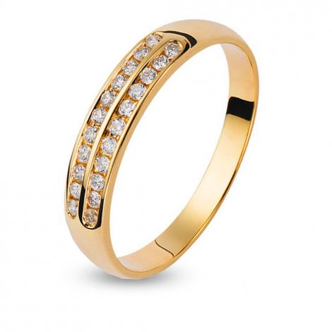 Alliance Orest diamant 0.18 ct - Théia - 42465