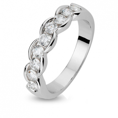 Alliance Orest diamant 0.63 ct - Uranie - 111070