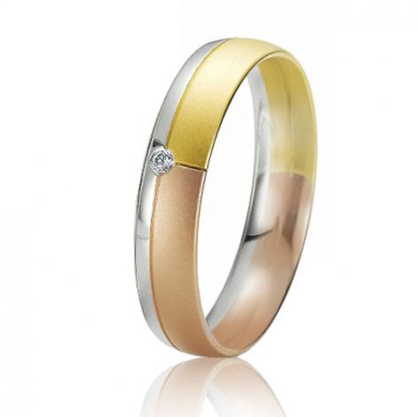Alliance Rainbow Gabriela 4.5 mm 3 Ors diamant