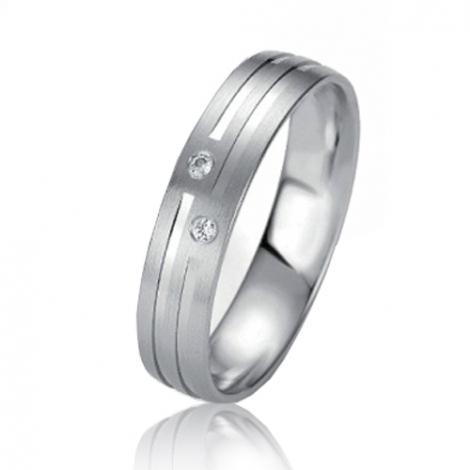 Alliance Slimline Kiera 4.5 mm Or Jaune diamant