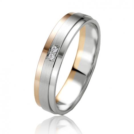 Alliance Slimline Leya 4.5 mm 2 Ors diamant